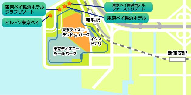 オフィシャルホテル地図