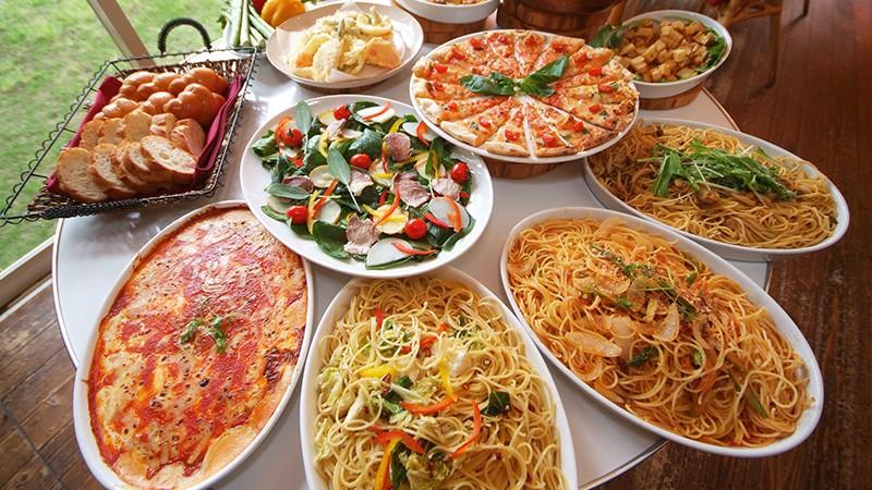 いちごの里 イタリアン食べ放題