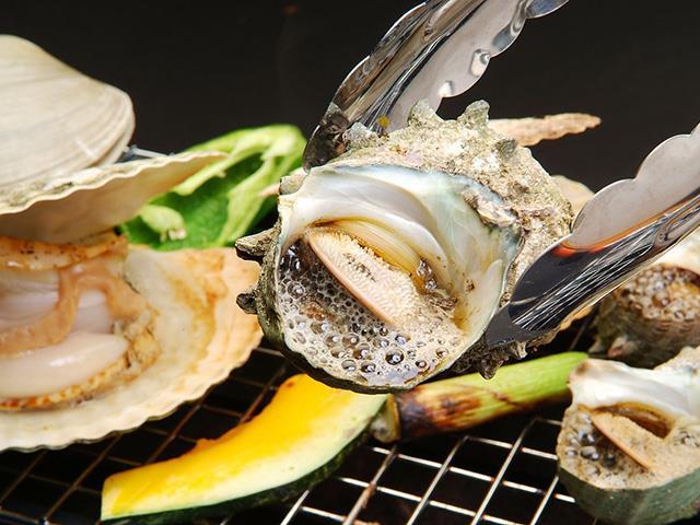 海鮮浜焼き食べ放題画像