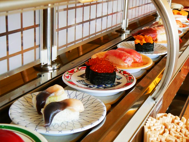寿司15種類食べ放題画像