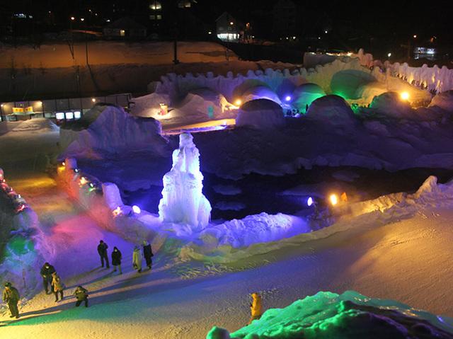氷 瀑 まつり